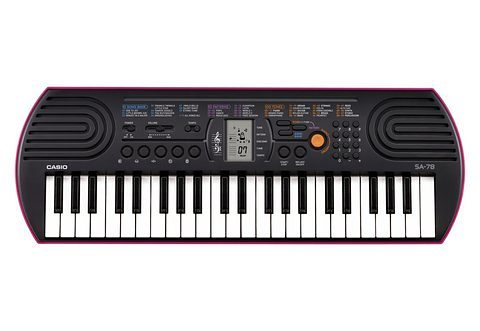 Mini-Keyboard, Casio®, »SA-78«