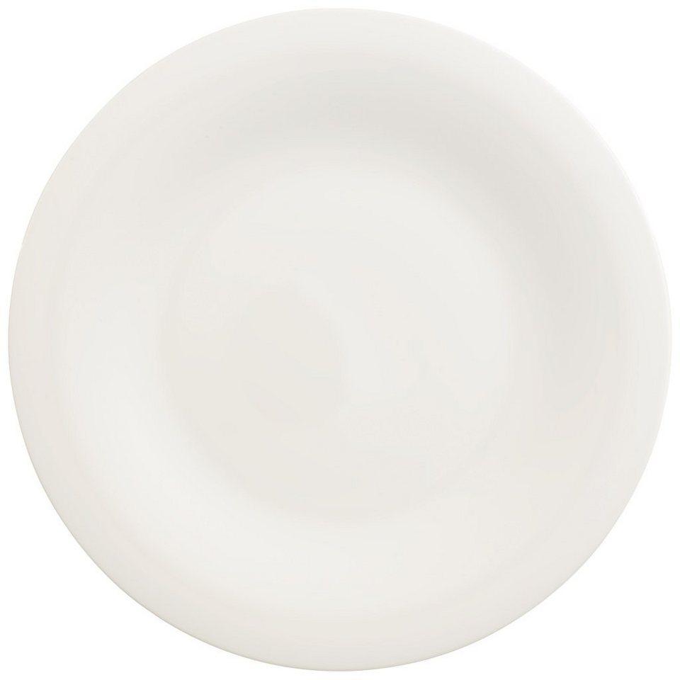 VILLEROY & BOCH Gourmetteller rund »New Cottage Basic« in Weiss