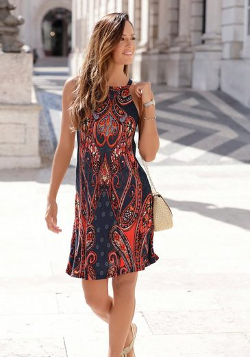 LASCANA Jerseykleid mit Alloverprint