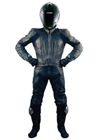 roleff Motorradkombi »Ghostrider Black Race S...