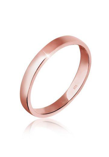Elli Fingerring »Basic Bandring Trend 925 Sterling Silber«, Ehering