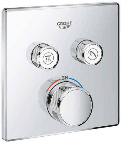 Grohe Brausethermostat »Grohtherm SmartControl« für Wandmontage, Thermostat mit 2 Absperrventilen