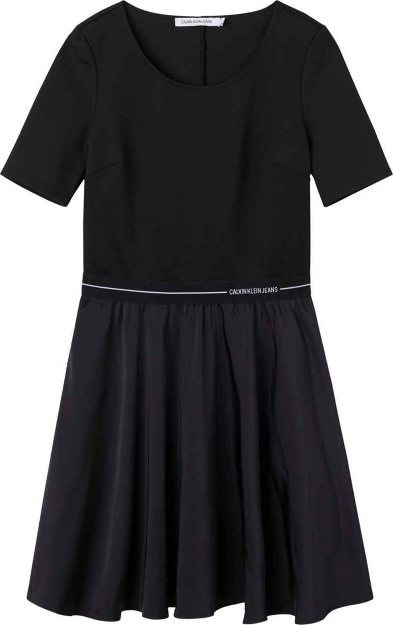 Calvin Klein Jeans Jerseykleid »Logo Elastic Dress« mit Calvin Klein Logo-Elastktape in der Taille