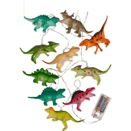 """Out of the Blue Lichterkette »LED-Lichterkette """"Dinosaurier"""" 10 LED's, 1,70m«"""