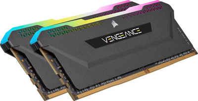 Corsair »Vengeance RGB PRO DDR4 3200Mhz 16GB (2x8GB) Black« Arbeitsspeicher
