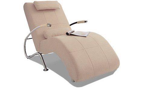 Collection AB Relaxliege, wahlweise mit Kippfunktion | Wohnzimmer > Sessel > Relaxliegen | Strukturstoff | COLLECTION AB