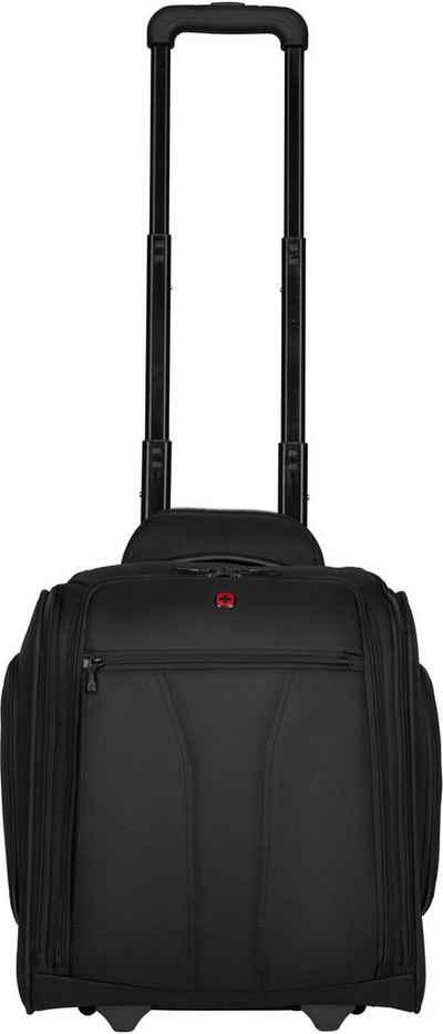 Wenger Business-Trolley »BC Roll Underseat Wheeled Briefcase«, 2 Rollen, mit 14-Zoll Laptopfach, 10-Zoll Tabletfach und USB-Schleuse