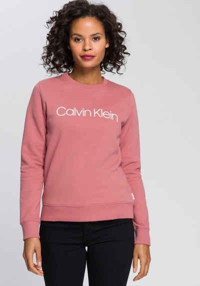 Calvin Klein Sweatshirt »LS CORE LOGO HWK« mit Calvin Klein Logo-Schriftzug