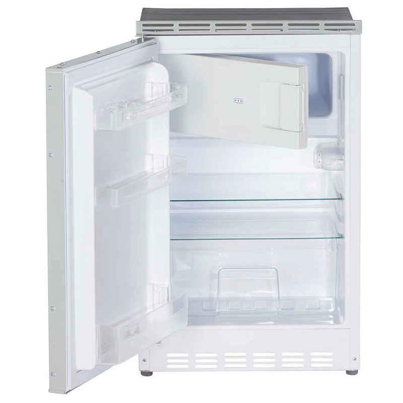 PKM Einbaukühlschrank KS 82.3 UB, 82.1 cm hoch, 50 cm breit, Unterbau Kühlschrank mit 3*** Gefrierfach 83 L