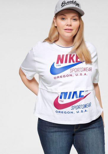 Nike Sportswear T-Shirt »WOMEN SHORTSLEEVE PLUS SIZE«
