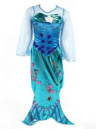 Corimori Prinzessin-Kostüm »Meerjungfrau Kostüm-Kleid für Mädchen«