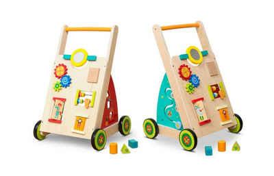 Coemo Spielcenter, (1-tlg), Lauflernwagen Holz