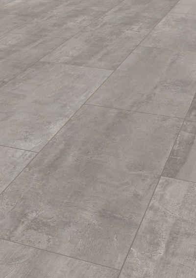 ter Hürne Laminat »Betonoptik hellgrau«, mit fühlbarer Oberfläche und Klicksystem