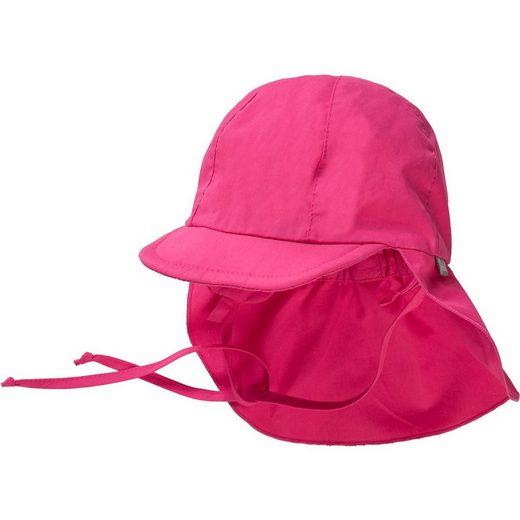 Sterntaler® Schirmmütze »Baby Schirmmütze zum Binden mit Nacken- und«