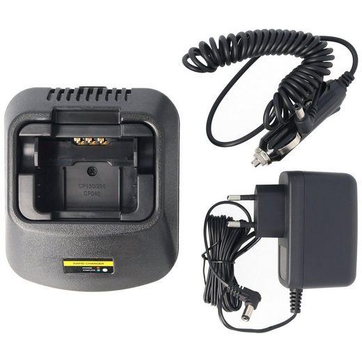 AccuCell »Schnell-Ladegerät passend für den Motorola Akku CP« Akku-Ladestation