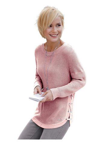 Casual Looks Megztinis apvalia iškirpte »Pullover«
