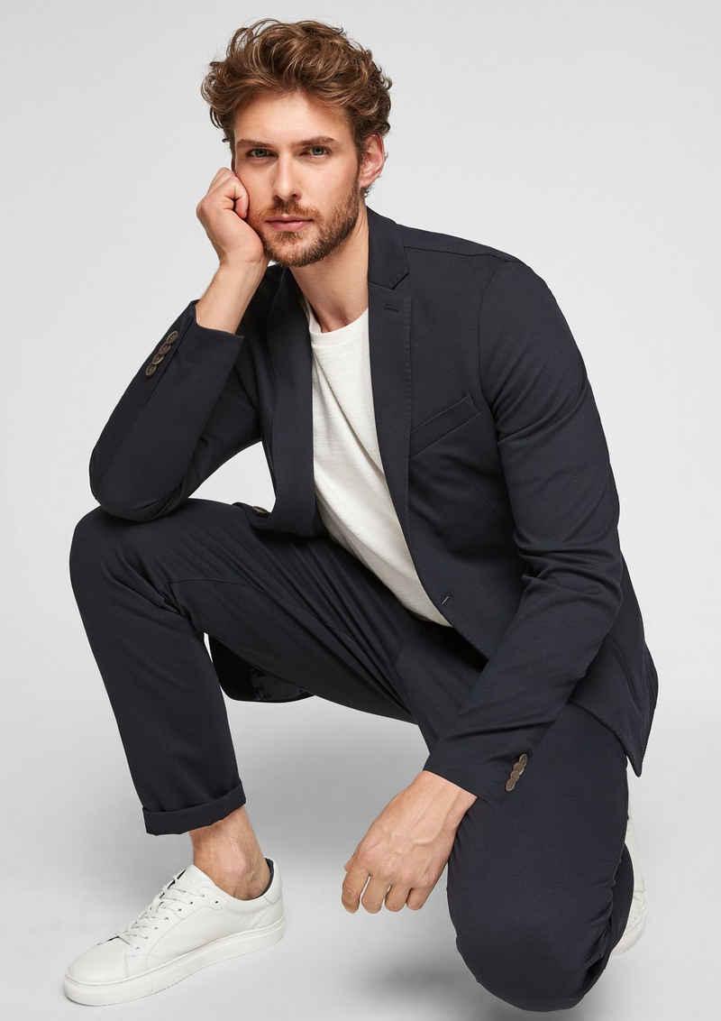 s.Oliver BLACK LABEL Sakko »Slim: Jogg Suit-Sakko«