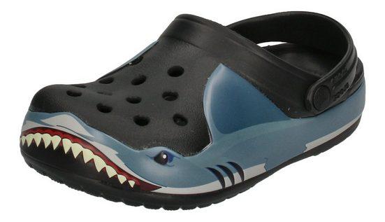 Crocs »Fun Lab Shark Band« Clog Black