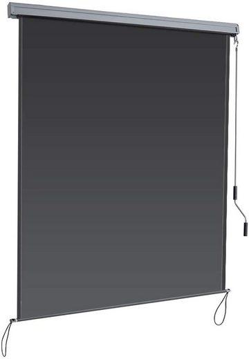 COSTWAY Senkrechtmarkise »Sichtschutzrollo Fensterrollo« Sichtschutz Sonnenschutz Windschutz, mit Aluminiumrahmen