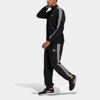 adidas Performance Trainingsanzug »AEROREADY ESSENTIALS REGULAR-FIT 3-STREIFEN« (Set, 2-tlg)