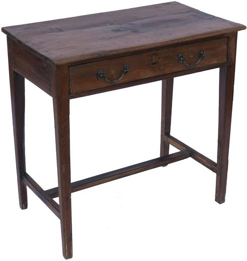 Guru-Shop Schreibtisch »Antiker Schreibtisch mit 1 Schublade - Modell 20«