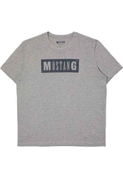 MUSTANG T-Shirt »Alex C LOGO Tee«