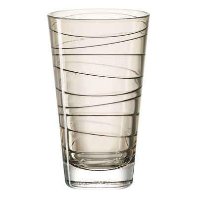 LEONARDO Glas »Vario Struttura Braun 200 ml«, Glas
