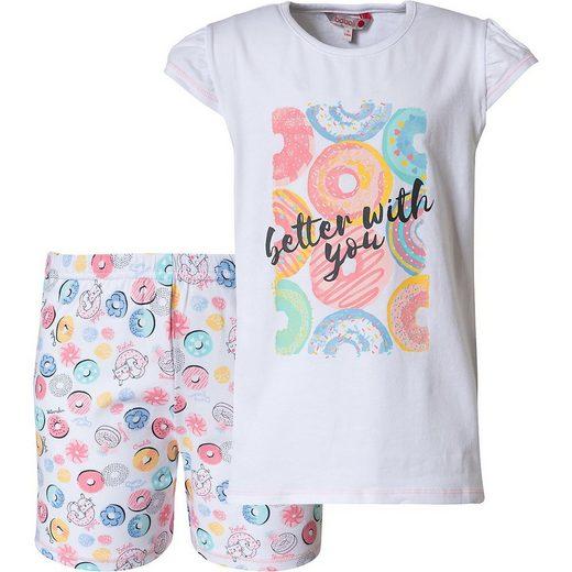 BÒBOLI Schlafanzug »Schlafanzug für Mädchen«