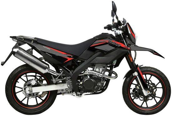 PRIKE Motorrad »PXM 125 Supermoto«, 125 ccm, 102 km/h, Euro 4
