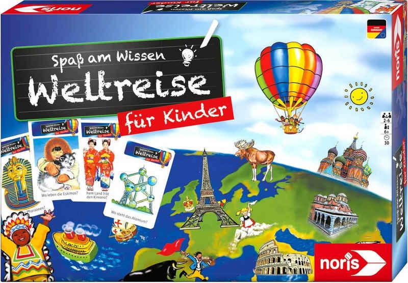 Noris Spiel, Quizspiel »Spaß am Wissen - Weltreise für Kinder«