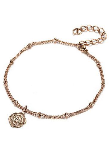 Firetti Fußkette »Blume - Rose«