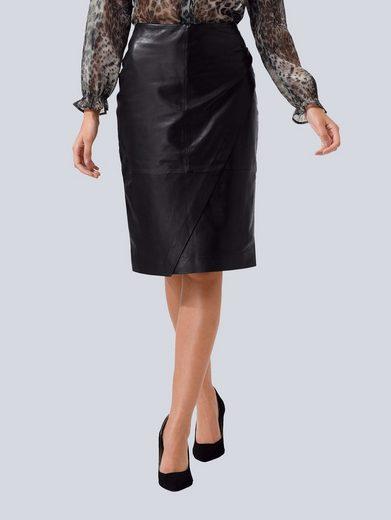 Alba Moda Lederrock aus hochwertigem, weichen Leder