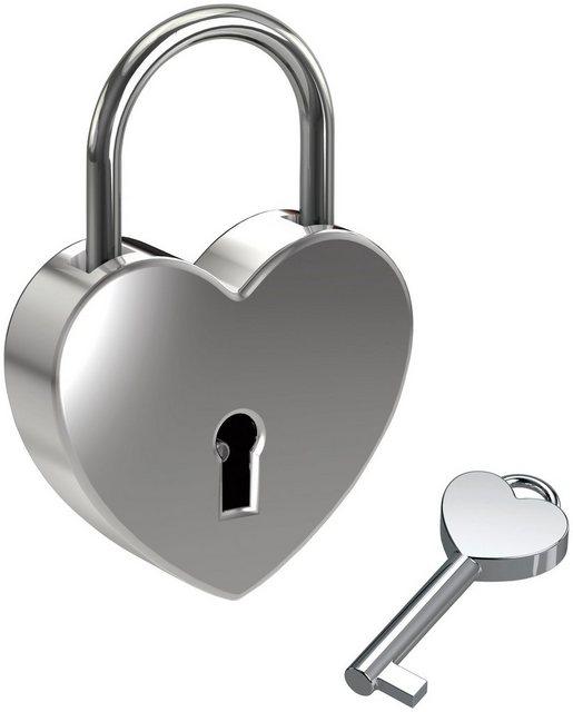 BASI Vorhängeschloss »Liebesschloss«
