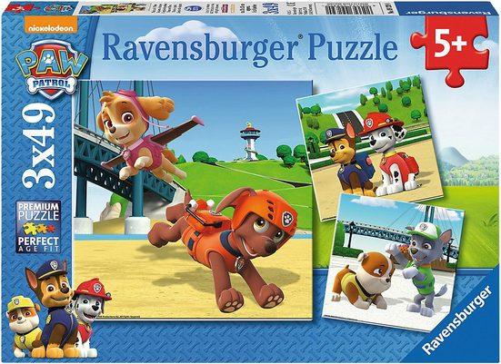 Ravensburger Puzzle, Puzzleteile