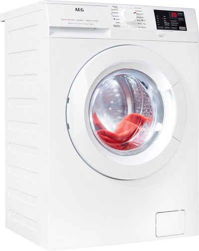 AEG Waschtrockner, 8 kg, 4 kg, 1600 U/min