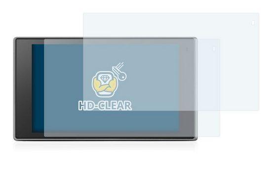 BROTECT Schutzfolie »für Garmin DriveLuxe 50 LMT-D«, (2 Stück), Folie Schutzfolie klar