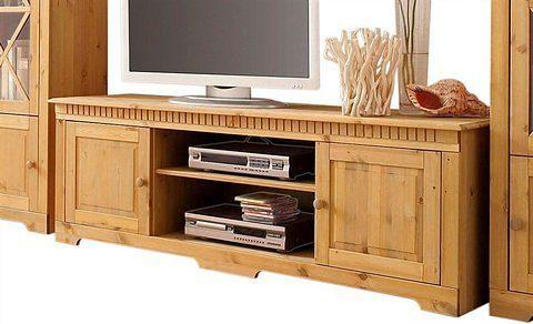 Home affaire Lowboard »Lisa«, aus schönem massivem Kiefernholz, Breite 175 cm