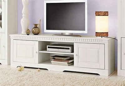 m bel tv m bel wei landhausstil tv m bel wei. Black Bedroom Furniture Sets. Home Design Ideas
