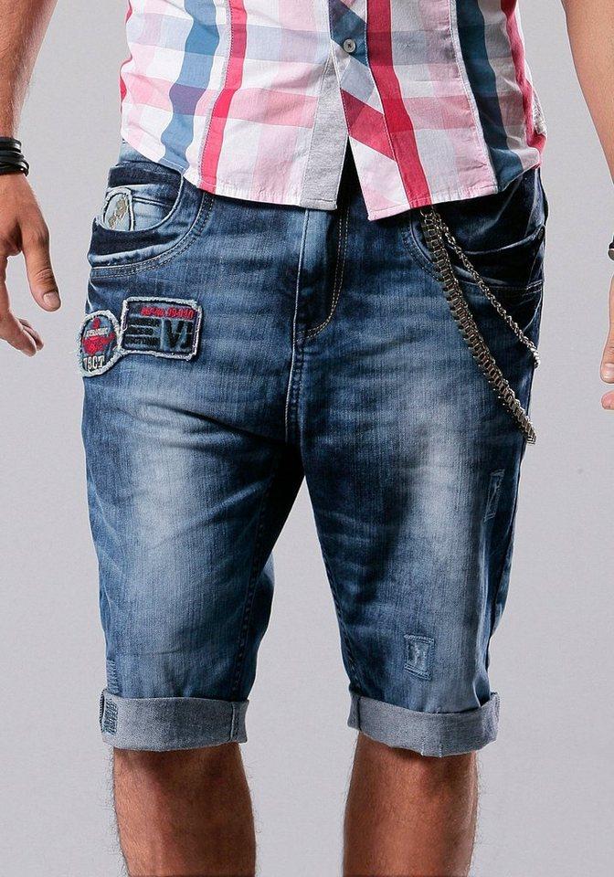 Шорты из старых джинс мужские