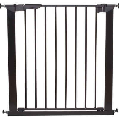 BABY-DAN Türschutzgitter »Türschutzgitter Premier, schwarz, 73,5 - 79,6 cm«