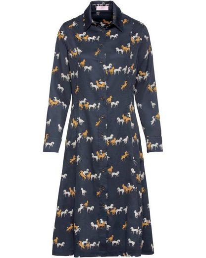 Brigitte von Schönfels Hemdblusenkleid »Hemdblusenkleid mit Pferdemotiv«