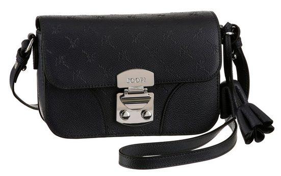 Joop! Mini Bag »Cortina Stampa uma Shoulderbag«, mit silberfarbenen Schnappverschluss