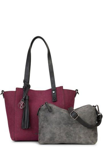 EMILY & NOAH Shopper »Bag in Bag Surprise«, Logo Anhänger