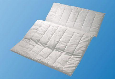 Kunstfaserbettdecke, »Aqua Aktiv«, Centa-Star, leicht, Bezug: 100% Baumwolle, (1-tlg)