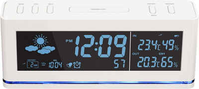 technoline Funkwecker »WS 6850« mit Wettervorhersage und Außensender