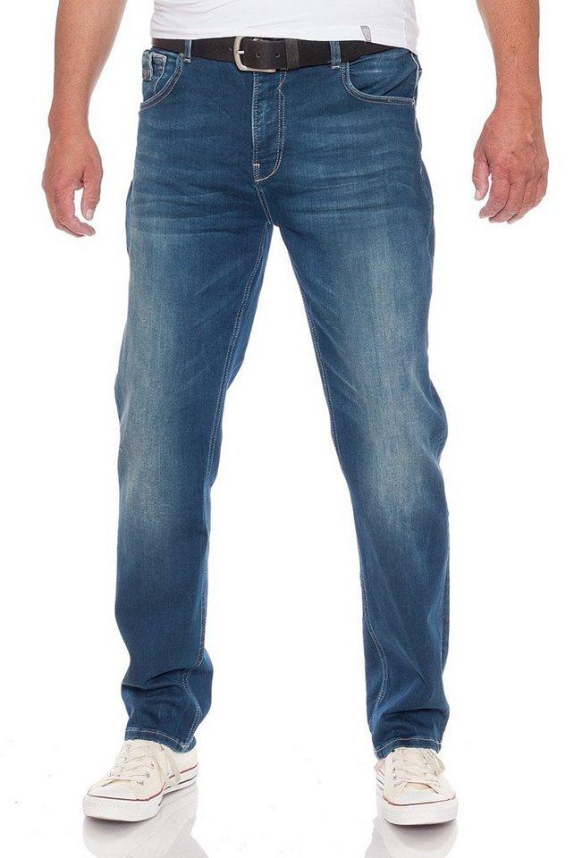 miracle of denim -  Straight-Jeans »M.O.D Ricardo Regular Fit Snowlake Blue oder Caledon Blue Jogg«