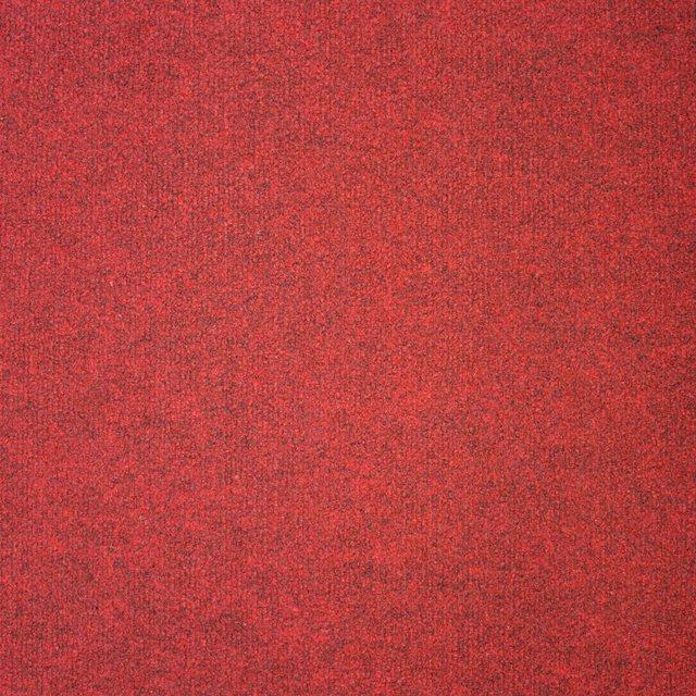 Teppichfliese »Madison rot«, 20 Stück (5 m²), selbstliegend   Heimtextilien > Teppiche > Sonstige-Teppiche   Rot   OTTO
