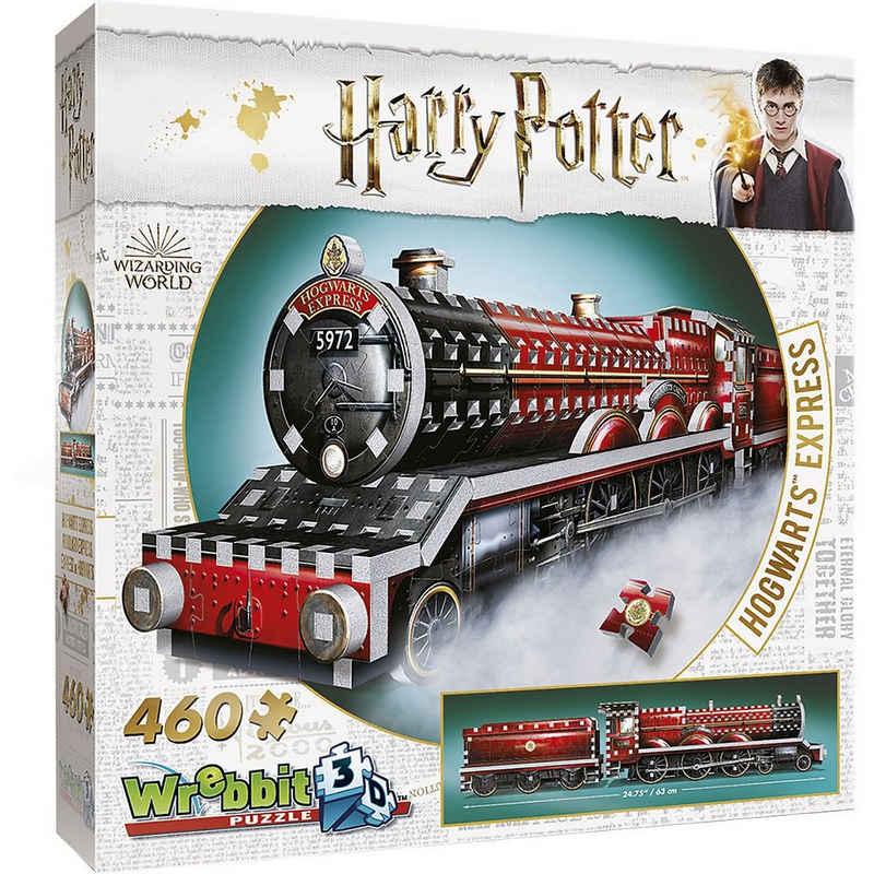 Wrebbit 3D-Puzzle »Wrebbit Hogwarts Express«, Puzzleteile