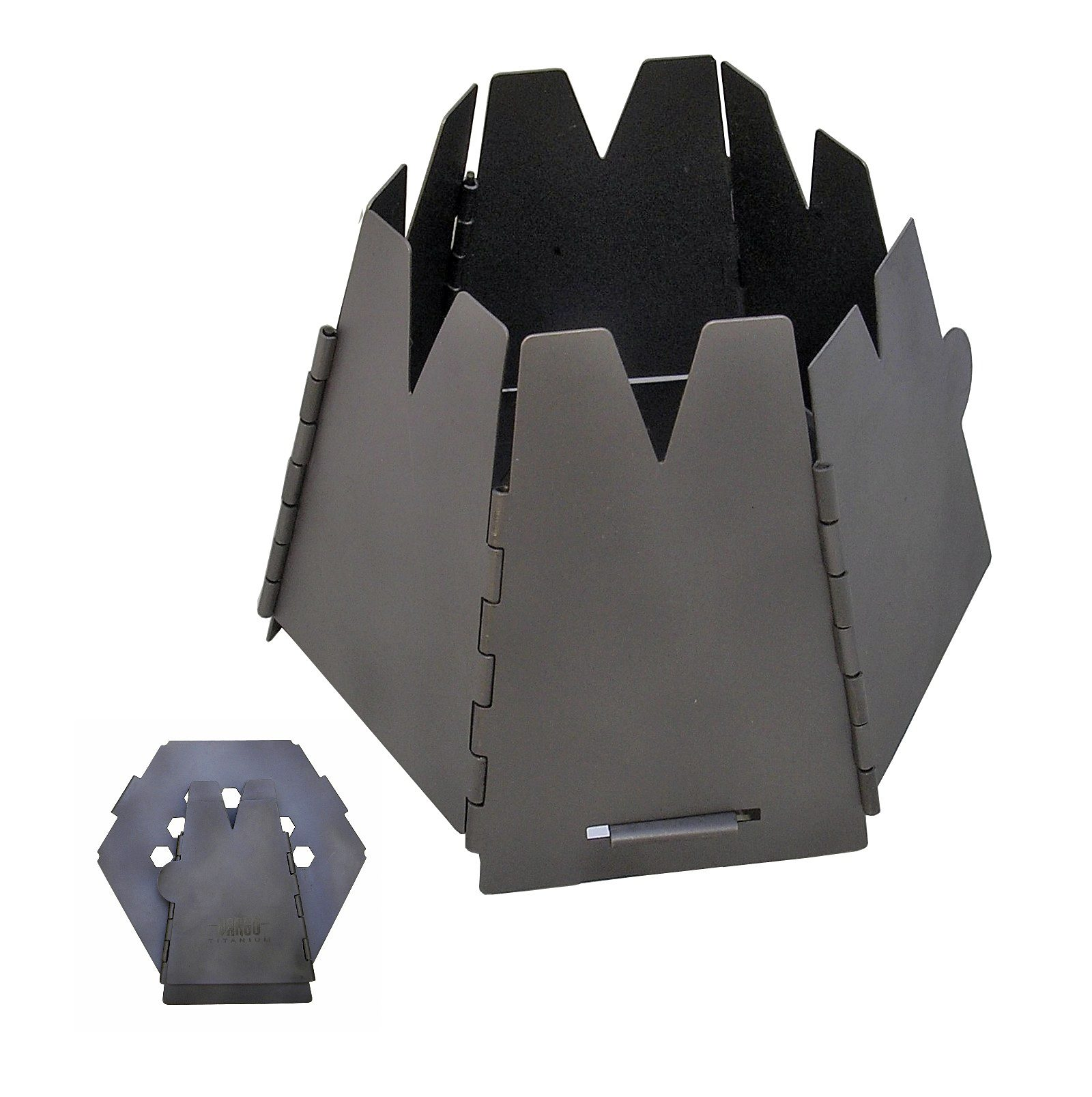 Vargo Camping-Kocher »Hexagon Holzofen Titan«