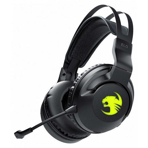 ROCCAT »Elo Air Gaming-Headset schwarz Metallkopfbügel abnehmbares Mikrofon« Gaming-Headset